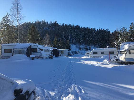 Järvsö camping – Järvsö camping mitt i byn